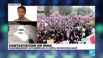 Contestation en Irak : Le départ des troupes américaines rassemble des milliers d'irakiens dans les rues
