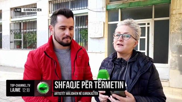 Shfaqje për tërmetin/ Artistët mblidhen në Gjirokastër