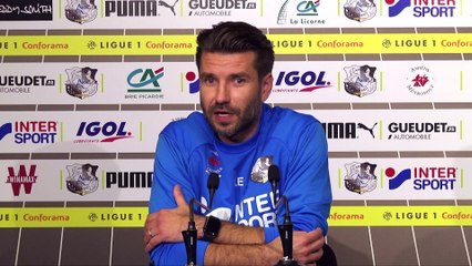 Conférence de presse d'avant Match, Brest - Amiens SC Luka Elsner