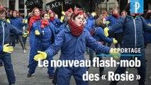 « A cause de Macron ! » : action surprise Gare de l'Est contre la réforme des retraites