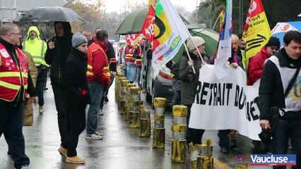 Avignon : 1500 manifestants contre la réforme des retraites