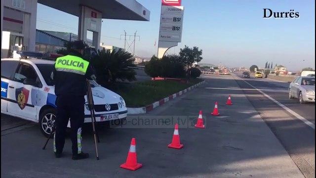 Policia Rrugore: 905 leje drejtimi të pezulluara për 24 ditët e para të vitit 2020