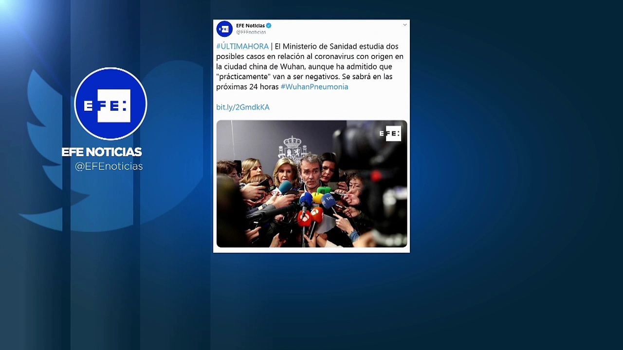Sanidad descarta los dos casos sospechosos de coronavirus de Wuhan en España