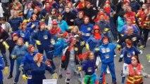 Flashmob contre la réforme des retraites à Toulon