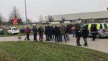 Vendredi 24 janvier, de 200 à 250 personnes ont manifesté contre la réforme des retraites