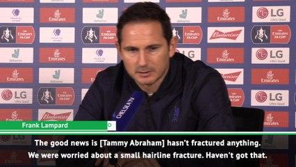 Abraham injury still unclear - Lampard