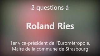 DNA - Les souvenirs de Roland Ries comme maire de Strasbourg