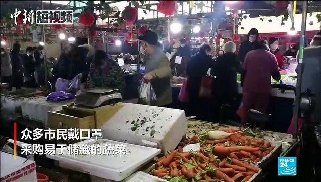 """Coronavirus à Wuhan : """"J'ai de la fièvre et je tousse, j'ai peur d'être infecté"""""""