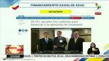 Venezuela denuncia nuevo entramado de corrupción de Juan Guaidó