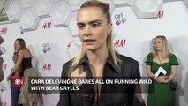 Cara Delevingne's Nature Trip With Bear Grylls