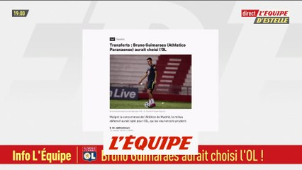 Bruno Guimaraes (Athletico Paranaense) aurait choisi l'OL - Foot - L1 - Transferts