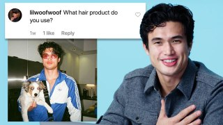 Charles Melton Goes Undercover on YouTube, Twitter and Instagram