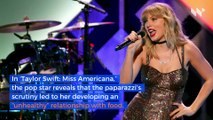 Taylor Swift Opens up About Past Eating Disorder