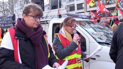 Plusieurs milliers de manifestants dans les rues à Saint-Etienne