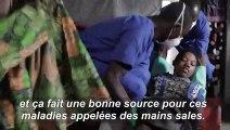 RDC: une épidémie de choléra frappe les camps de déplacés à l'est du pays
