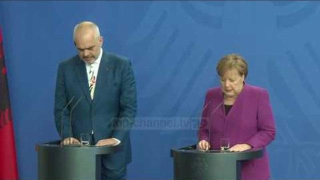 Merkel do të takohet me Ramën në Berlin