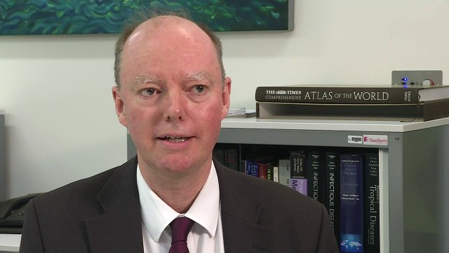 Prof. Whitty: 'Fair' chance of coronavirus cases in the UK