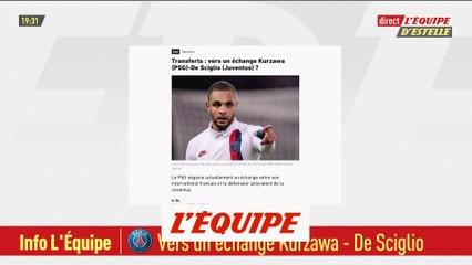 Vers un échange Kurzawa (PSG)-De Sciglio (Juventus) ? - Foot - L1 - Transferts