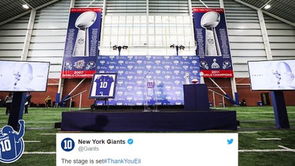 Eli Manning Announces Retirement