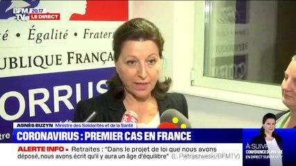 Coronavirus chinois: Agnès Buzyn déclare que deux cas ont été confirmés en France