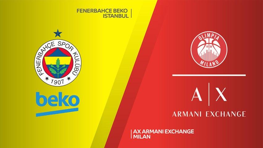 Fenerbahce Beko Istanbul - AX Armani Exchange Milan Highlights | EuroLeague, RS Round 21