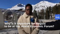 Angola seeks to gain investor confidence in Davos