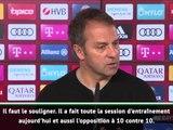 Bayern - Flick : ''Hernandez suit un bon processus''