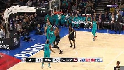 NBA : Les Bucks enflamme Paris contre les Hornets
