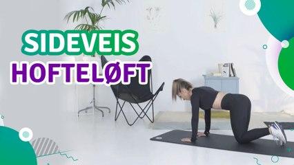 Sideveis hofteløft - Trenings Glede