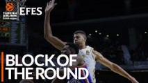 Efes Block of the Round: Walter Tavares, Real Madrid