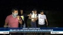 Berupaya Kabur, Kurir Narkoba Jaringan Lapas di Padang Dilumpuhkan Polisi