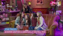 Watch Jennifer Aniston Surprise Unsuspecting Friends Fans on the Central Perk Set