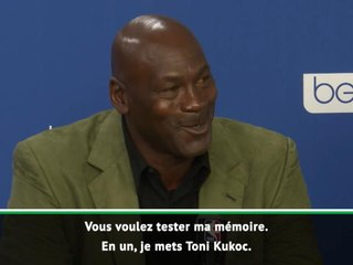 Paris Game - Jordan galère pour établir son top 5 des joueurs européen : ''En un, je mets Toni Kukoc !''
