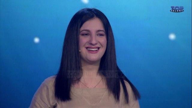 Top Talent 3 - Sara Muhametaj, një mexosoprano në Top Talent