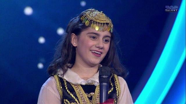 Top Talent 3 - Daniela Nikolli, vajza që sjell vallen tradicionale në Top Talent