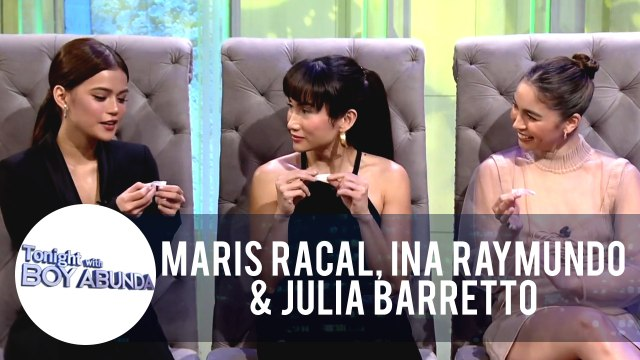 Maris, Ina and Julia share their thoughts on the contents of their fortune cookies | TWBA