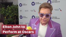 Elton John's Oscars Announcement