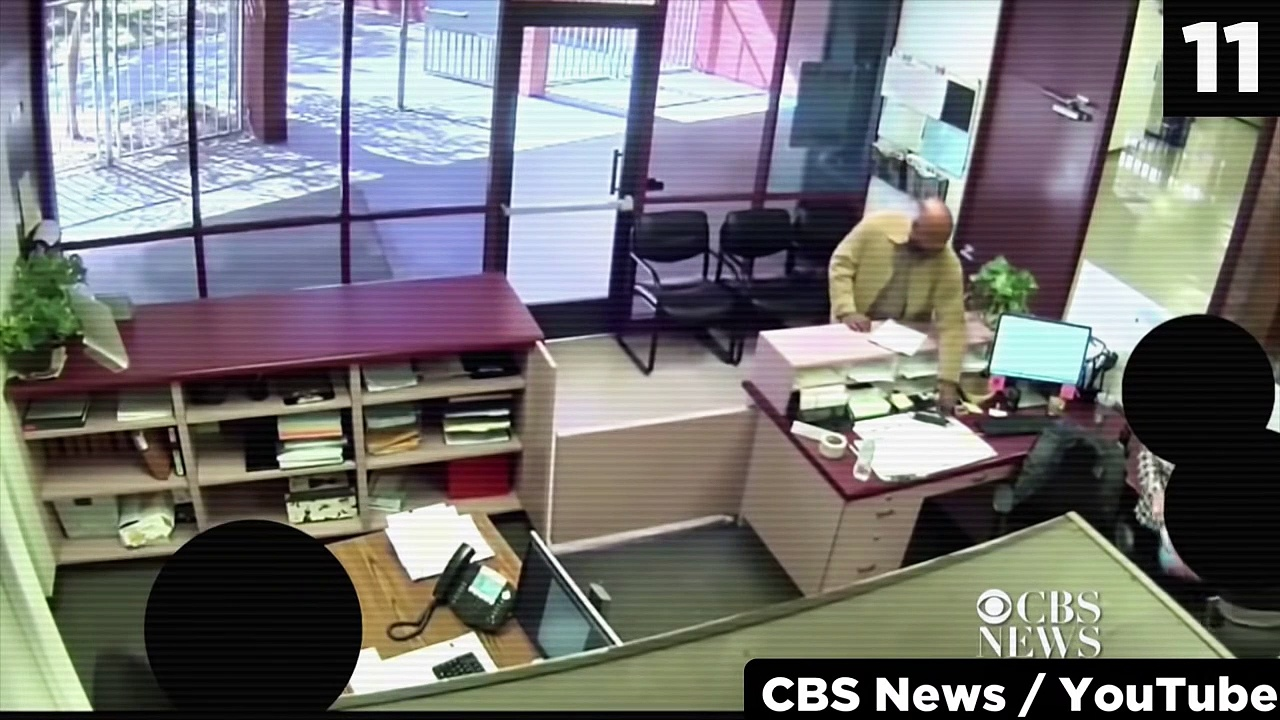 12 Scary Events Caught on School Security Cameras
