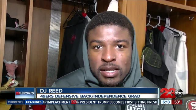 DJ Reed ready to rep Bakersfield in Super Bowl 54