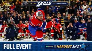 View all of the Enterprise NHL Hardest Shot competition