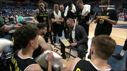 Enorme coup de gueule du coach d'Antwerp - Basketball CL