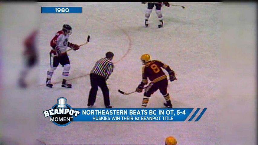Northeastern Beats BC in Overtime; Huskies win first Beanpot title  (1980)