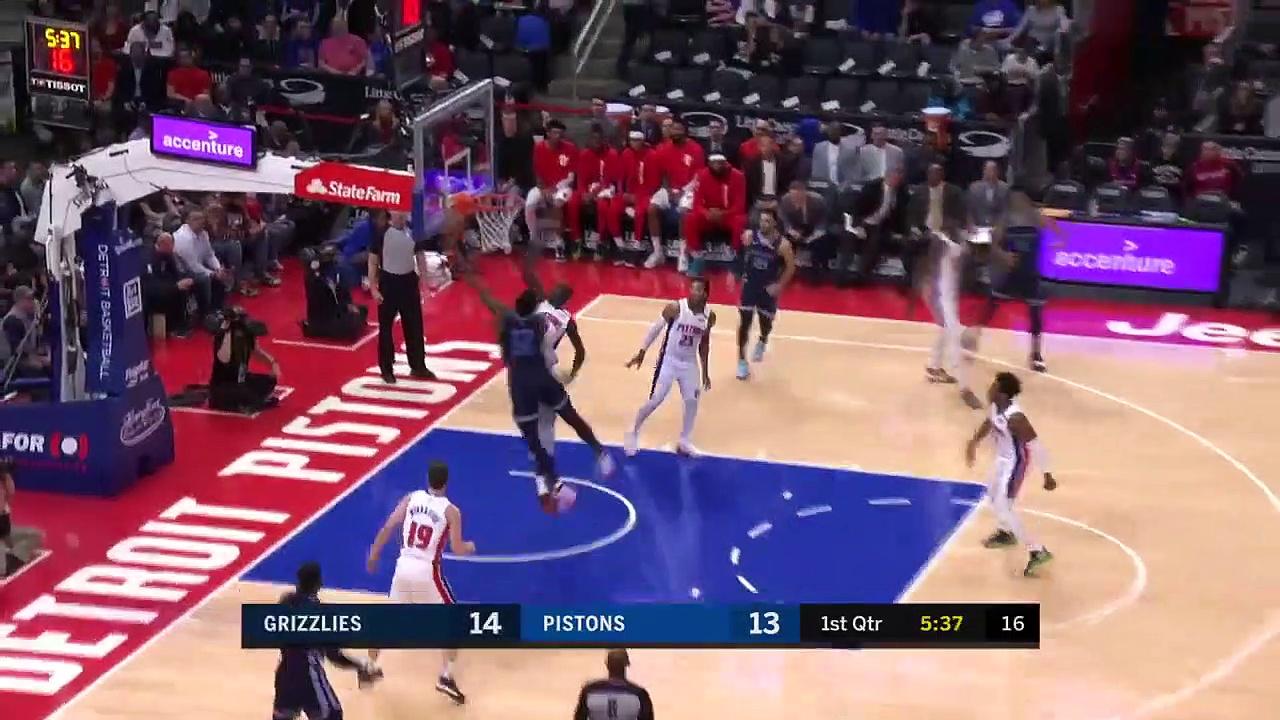 Memphis Grizzlies 125 - 112 Detroit Pistons
