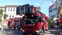 İstanbul-beylerbeyi polisevi'nde baca yangını
