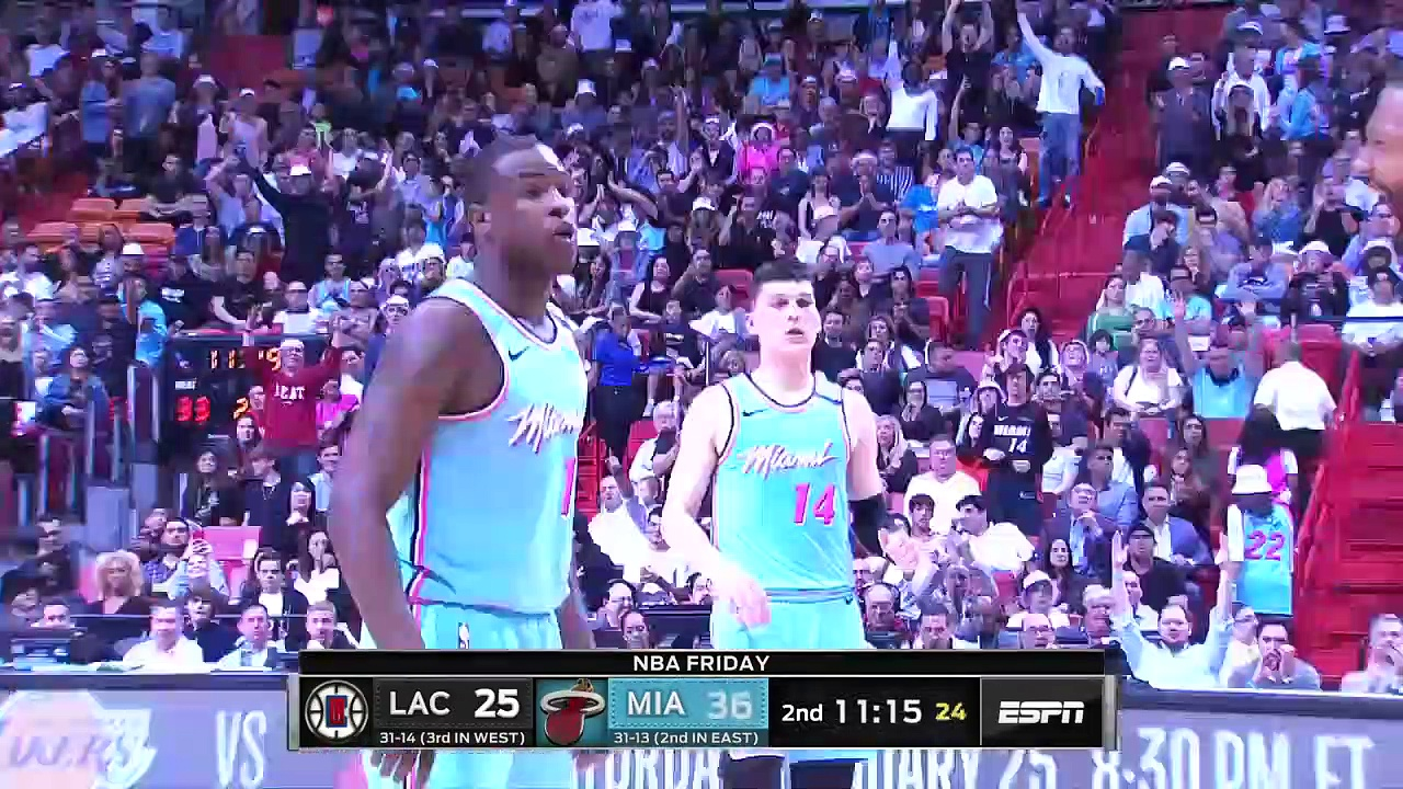 Los Angeles Clippers 122 - 117 Miami Heat