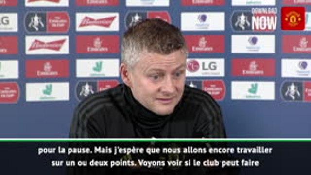 "FA Cup - Solskjaer : ""Des transferts avant la fin du mercato"""
