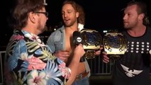 Kenny Omega & Adam Hangman Page interview