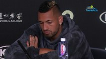 """Open d'Australie 2020 - Does Nick Kyrgios like Nadal ? : """"I don't think about it yet"""""""