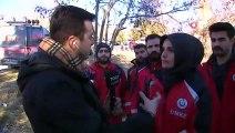 Enkaz Altında Kalan Vatandaş ile Telefonda Konuşan Saçlıkçı TGRT Haber'de