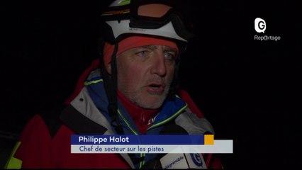 Reportage - Un itinéraire de ski de randonnée nocturne à Chamrousse - Reportage - TéléGrenoble